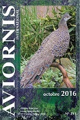 REVUE AVIORNIS OCTOBRE 2016 - N° 253